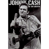 Johnny Cash - Import Poster