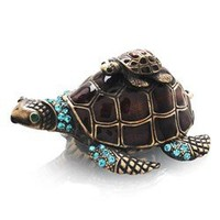 Welforth Turtle Jewelry Box
