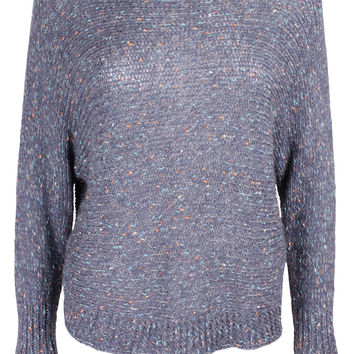 Blue Speckled Jumper