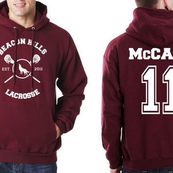 McCALL 11 Beacon Hills Lacrosse Teen Wolf Unisex Hoodie S to 3XL Scot McCall