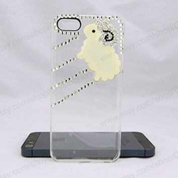 Sheep case  bling iphone 6 case iphone 6 case iphone 5S 5c iphone 4 case samsung galaxy s4 case note3 s3 case bling crystal