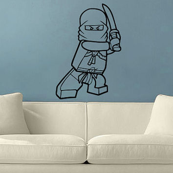 Ninjago Lego Vinyl Wall Decal
