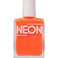 American Apparel Neon Nail Polish - Neon Coral / One Size