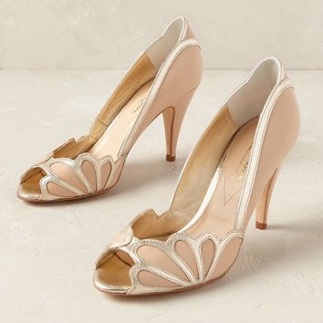 Isabelle Scalloped Heels