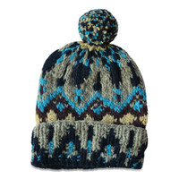 Chamula // Knit Cap, Blue Multi