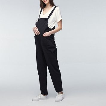 Plus Size Maternity Overalls - Various Colors