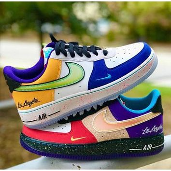 NIKE Air Force Fashion Women Men Casual Sport Running Shoes Sneakers