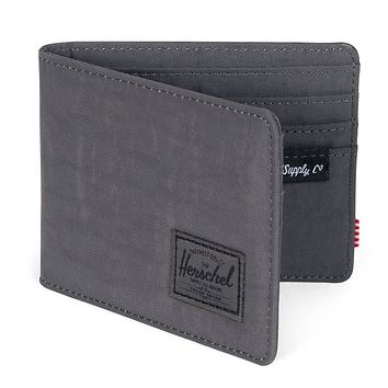 Roy Wallet in Dark Shadow Wrinkled Nylon by Herschel Supply Co.