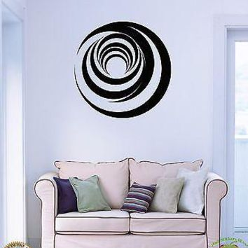 Vinyl Decal Wall Stickers Circles Abstract Modern Cool Decor Unique Gift (z1619)