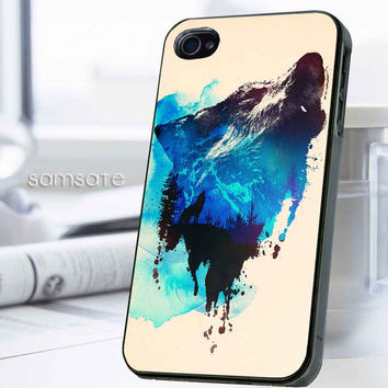 iPhone case,Samsung Galaxy,Cover,Skin,iPod Touch,Galaxy Note2/3,Trends,October,November,Winter-17914,18,Watercolor,Nebula,Wolf,painting