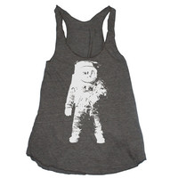 Womens ASTRONAUT american apparel TriBlend by happyfamily on Etsy
