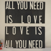 subway art, All you need is love, love is all you need