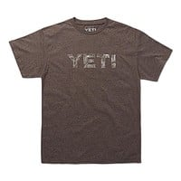 Topo Tee in Vintage Brown by YETI