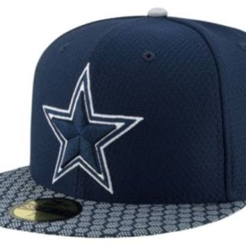 NFL Dallas Cowboys New Era 59Fifty Sideline Fitted Hat