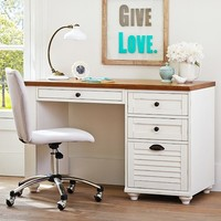 Whitney File Pedestal Desk