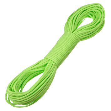 100FT 550lb Nylon Paracord Parachute Cord String Rope for Camping Hiking Survival Hight Quality For Outerdoor Sports