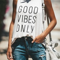 Only Good Vibes Tank