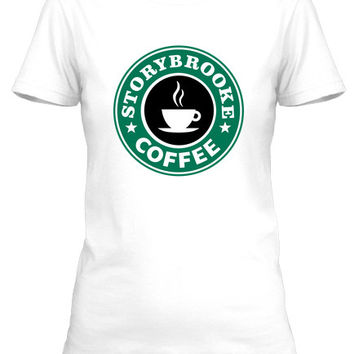 T-Shirt Storybrook Coffee Starbucks Parody