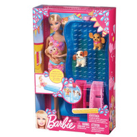 Barbie Swim and Race Pups Playset by Mattel
