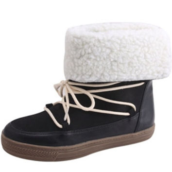NAKIA02-Women MOCCASIN STYLE ANKLE BOOTS