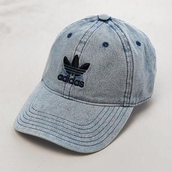 adidas Relaxed Denim Baseball Hat | Urban Outfitters