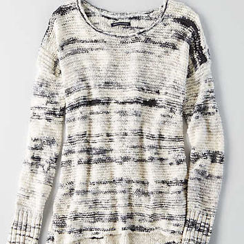 AEO Pullover Crew Sweater , Multi