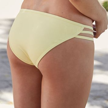 Kirra Strappy Side Brief Bikini Bottom at PacSun.com