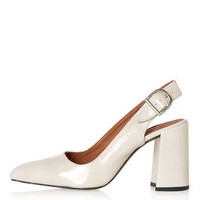 GRAMERCY Slingback Shoes - Off White
