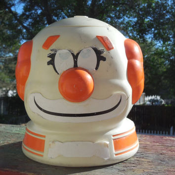 Vintage Wham  O 1970 s Fun Fountain Clown Whamo Water Sprinkler Summer Toy / New Listing Not Included in Coupon Discount Sale /S /