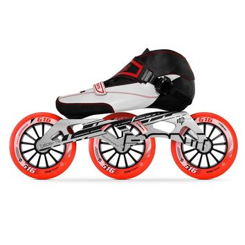 100% Original Bont Enduro 2PT Speed Inline Skates Heatmoldable Carbon Fiber Boot Frame 3*90/100/110mm G16 Wheels Racing Patines