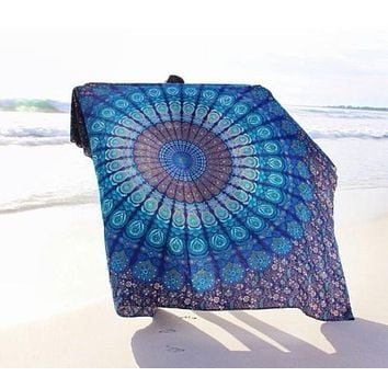 Vanitas Mandala Moroccan design Tapestry  (Many Colours available) ( 130cmx150cm, 150cmx200cm )