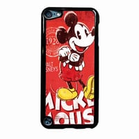 Vintage Dinsey Mickey Mouse Retro Disneyland d0af9351-12c4-4f0a-8499-70711d6f9763 FOR IPOD TOUCH 5 CASE *02*