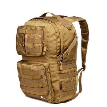 DCCK7N3 Hot 40L Outdoor Camouflage Military Tactical Backpack Rucksacks Sports Bag for Camping Hiking Hunting Bags D507