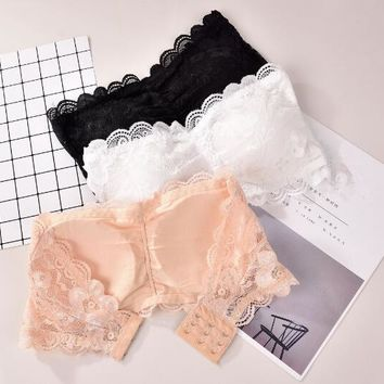 NEW Sexy Women Summer Tops Strap Ladies Camisole Lace Sleeveless shoulder Bralette Clubwear Lingerie Underwear 3 Color
