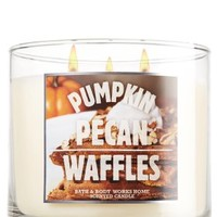 Pumpkin Pecan Waffles 14.5 oz. 3-Wick Candle   - Slatkin & Co. - Bath & Body Works