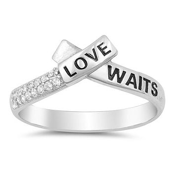 "A Flawless ""Love Waits"" Ring"