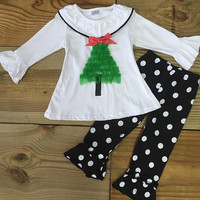 The Polka Dot Christmas Tree Outfit