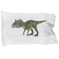 Cryolophosaurus Pillow Case - Dinosaur