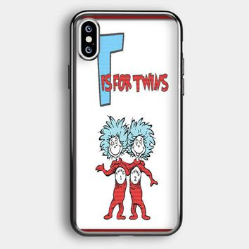 Thing 1 And Thing 2 iPhone XS Max Case | Casefruits