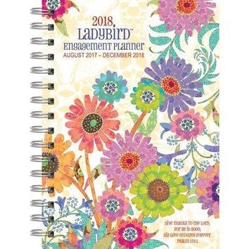 The LANG Companies WSBL Ladybird 2018 Engagement Planner Personal Organizer