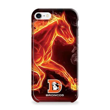 Denver Broncos fiery horse small logo iPhone 6 | iPhone 6S Case