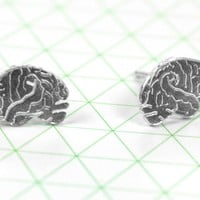 Anatomical Brain Earrings