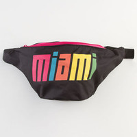 Extreme 80S Miami Fanny Pack Black Combo One Size For Men 23198214901