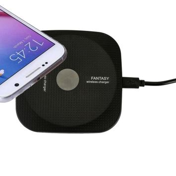 Ultra-Slim Qi Wireless Charger Charging Pad For Samsung Galaxy S8/S8 Plus