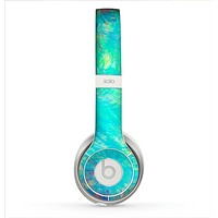 The Vibrant Colored Messy Painted Canvas Skin for the Beats by Dre Solo 2 Headphones
