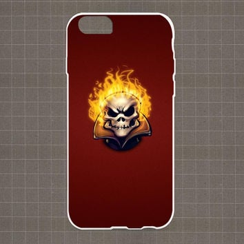 Ghost Rider Minimalist iPhone 4/4S, 5/5S, 5C Series Hard Plastic Case