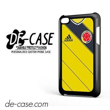 Colombia Soccer Jersey For Ipod 4 Ipod Touch 4 Case Phone Case Gift Present YO