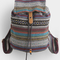 Campout Aztec Print Backpack