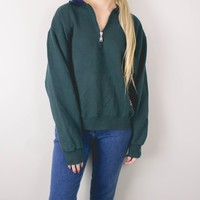 Vintage Russell Athletics Half Zip Sweatshirt