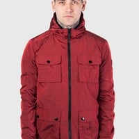 Weekend Offender Pitt Jacket - Chilli Goji